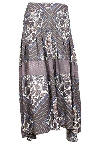 Free-People-Womens-Printed-Boho-Maxi-Skirt