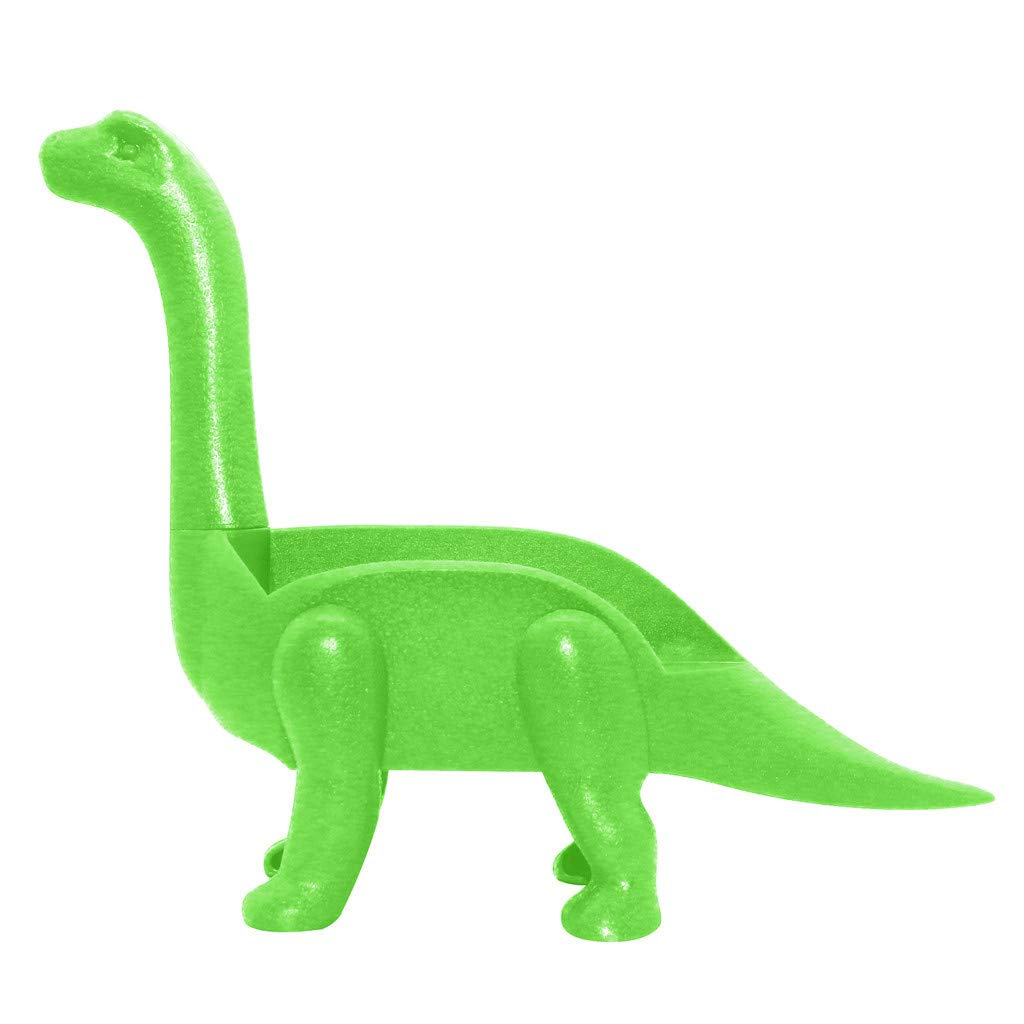 Tronet Taco Holder The Ultimate Prehistoric Taco Stand for Taco Tuesdays and Dinosaur (A, Green)