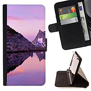 - Ocean Seas - - Premium PU Leather Wallet Case with Card Slots, Cash Compartment and Detachable Wrist Strap FOR Samsung Galaxy S4 IV I9500 i9508 i959 King case