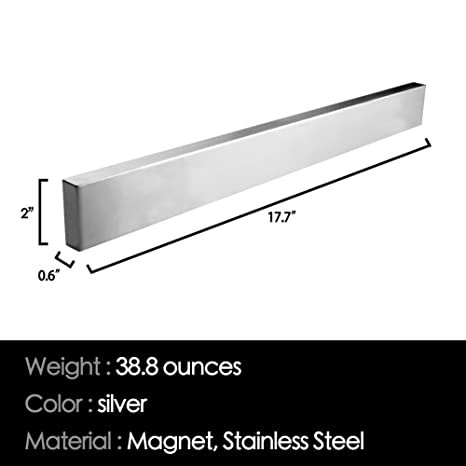 Amazon.com: Soporte magnético para cuchillos (| Heavy Duty ...