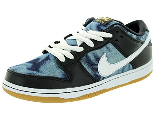 Nike DUNK LOW PREMIUM SB Mens sneakers 313170-024, Schwarz, 41 D(M) EU/7 D(M) UK