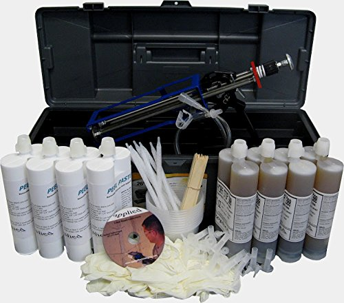 40' Contractor Peel-Off Paste Kit-Urethane Concrete Crack Injection by Applied Technologies