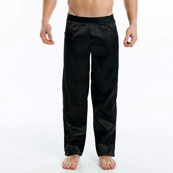 Modus Vivendi - Pantalón de pijama - para hombre Satin Noir S