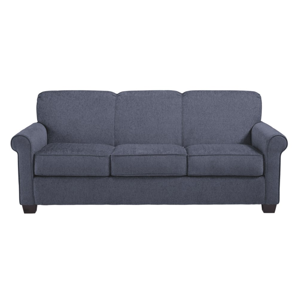 Ashley Furniture Signature Design - Cansler Contemporary Sofa Sleeper - Queen Size Mattress Included - Denim