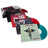 Colored Vinyl LP Album Pack (Too Fast For Love, Shout At The Devil, Theatre Of Pain, Dr. Feelgood)