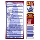 Clear Eyes Eye Drops, Redness Relief, 1 oz, Pack of 3