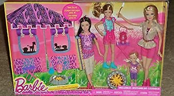Barbie and her Sisters Safari Tent with Four Barbie Sisters Doll Set  sc 1 st  Amazon UK & Barbie and her Sisters Safari Tent with Four Barbie Sisters Doll ...