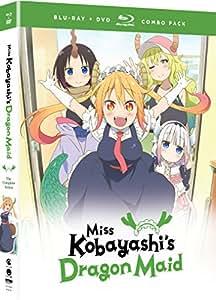 Miss Kobayashi's Dragon Maid: The Complete Series (Blu-ray/DVD Combo)