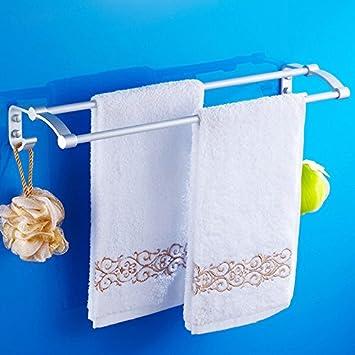 ZXC Bathroom racks Toallas de baño, Toalla de baño, Espacio de Rack de Aluminio