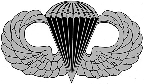 US Army Paratrooper Wings Bumper Sticker Laptop Sticker Toolbox Sticker