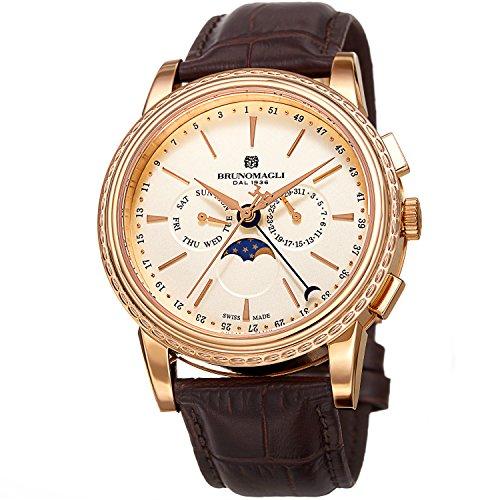 Bruno Magli Men's Ottanta Limited Edition Swiss Quartz Multi...
