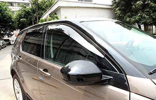 YUZHONGTIAN Visor Vent Shades Window Sun Rain Guard Deflector For Land Rover Discovery Sport -