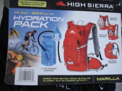 High Sierra Multi-Sport Hydration Pack – 72oz (2L) – Black, Outdoor Stuffs