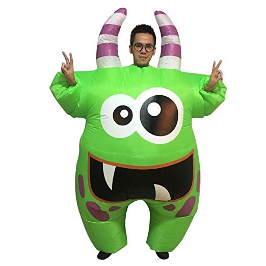 ypyrhh Traje Hinchable, Disfraz de Halloween, Inflable Monstruo ...