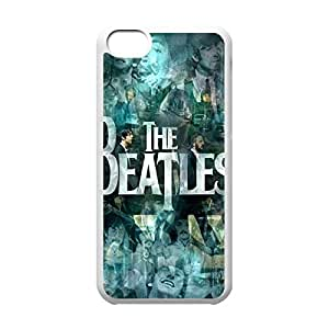 Band The Beatles Theme New Fashion Anti-slip Hard Case Cover for iPhone 5C _White 30301