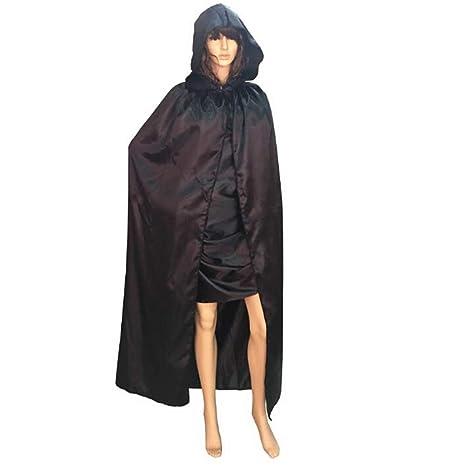 Chal exterior 170 cm de largo con capucha capa capa para ...