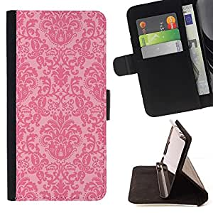 Momo Phone Case / Flip Funda de Cuero Case Cover - Rustic Rose Wallpaper - Sony Xperia M5