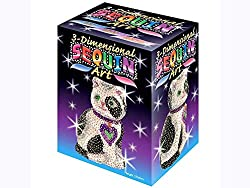 3D Cat Sparkling Arts and Crafts Kit