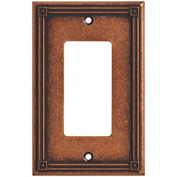 Decorator Wall Plates how to decorate with plates on a wall Brainerd 135767 Ruston Single Decorator Wall Plate Switch Plate Cover