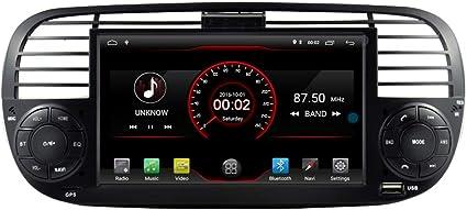 Autosion ANDROID 10.0 autoradio navigatore GPS per Fiat 500 Fiat