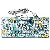 JIAU HUA Octopus Keyboards Ultrathin Mini Keyboards Custom Computer Accessories Stylish Gaming Keyboards For Laptop