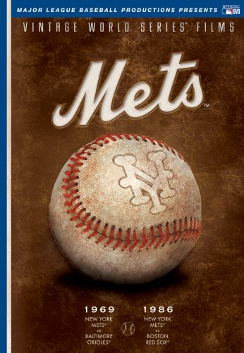 MLB Vintage World Series Films - New York Mets 1969 & 1986 by A&E