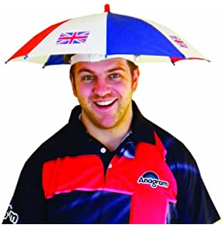 e88233118f1 Amscan International 994085 Great Britain Umbrella Hat - Fits Most GB  Decorations
