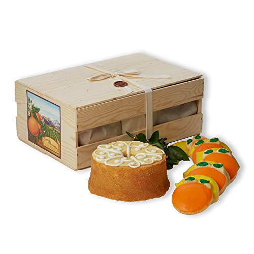California Orange Cake with Orange & Lemon Cookies - Impressive Gift Crate