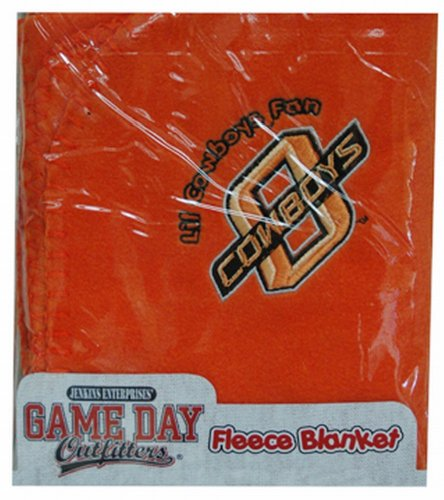 Oklahoma State Fleece Throw - NCAA Oklahoma State Cowboys Infant Blanket