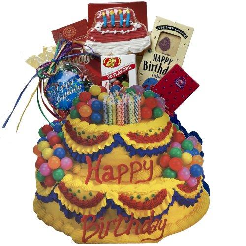 Birthday cake and gift pics