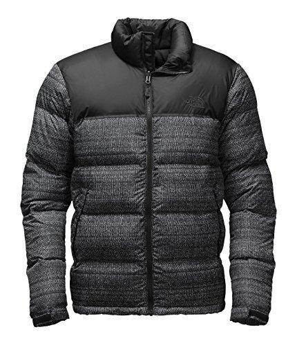 - The North Face Nuptse Jacket (Medium, TNF Black Twitch Print/TNF Black)