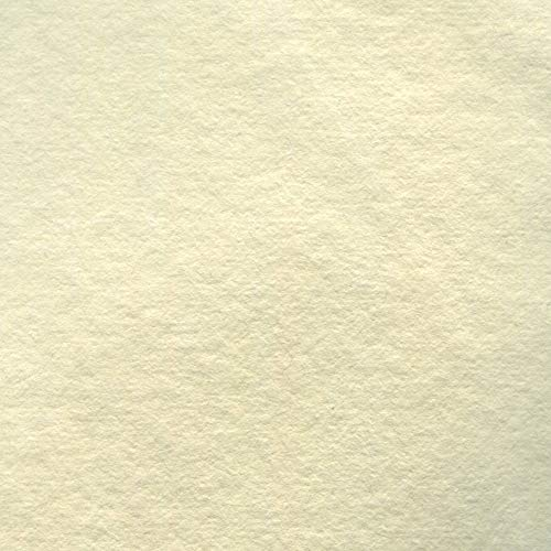 Indigo Artpapers 75% Cotton/25% Flax Blend Cold-Pressed Handmade Paper for Watercolors, 22 x 30 Inches, 300 GSM, 5 Sheets (IAPCF31)