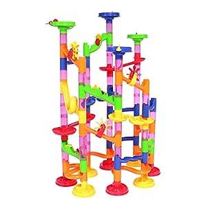 Amazon Com Peradix Marble Run Coaster Set 105 Piece
