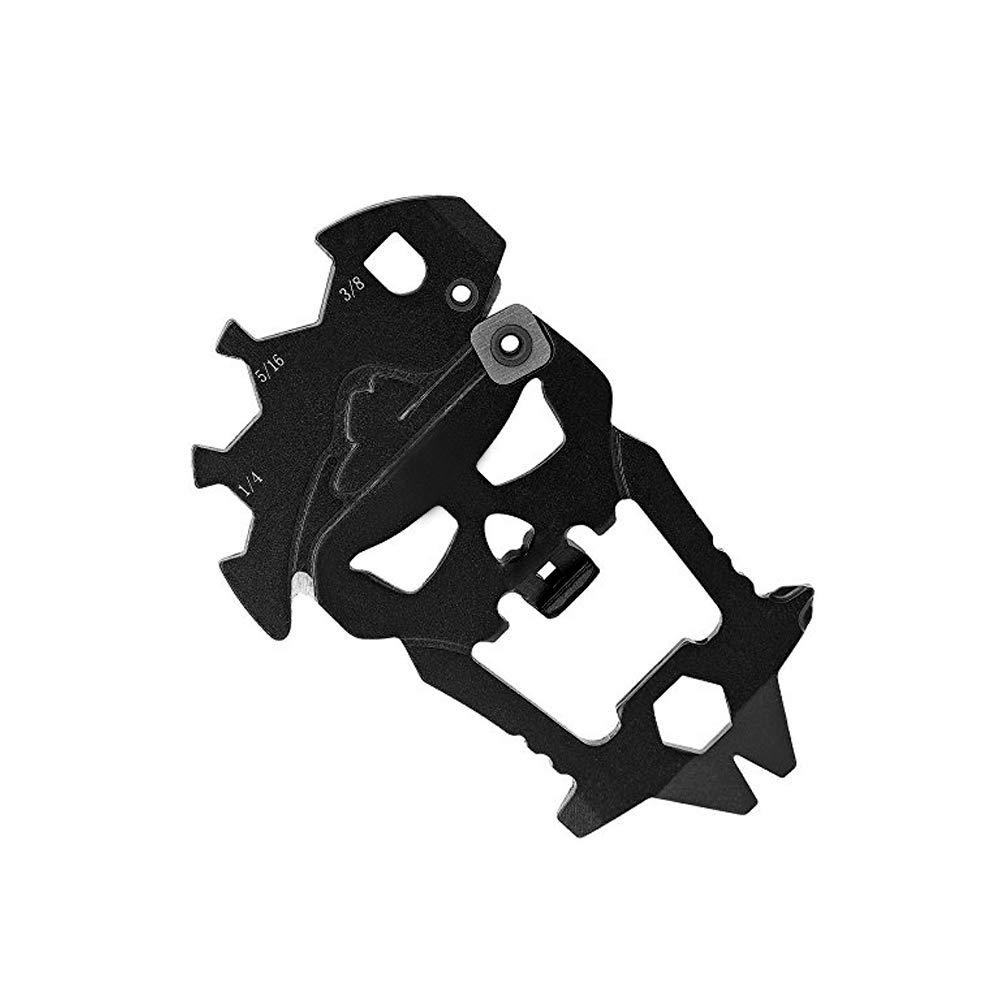 lujiaoshout Shantou Multi-Fonction Combinaison Gadget extérieure Multi-Fonction, décapsuleur, Tournevis, clé, affûteur