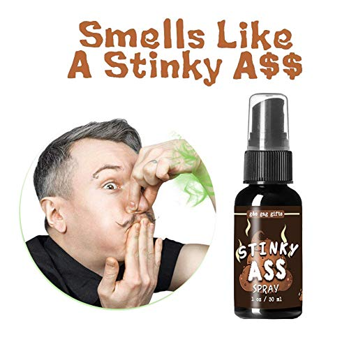 Hankyky Spray Prank Toy Stink Mist The Smelly Feet Gross Stinky Fart Sprays Great for Pranks