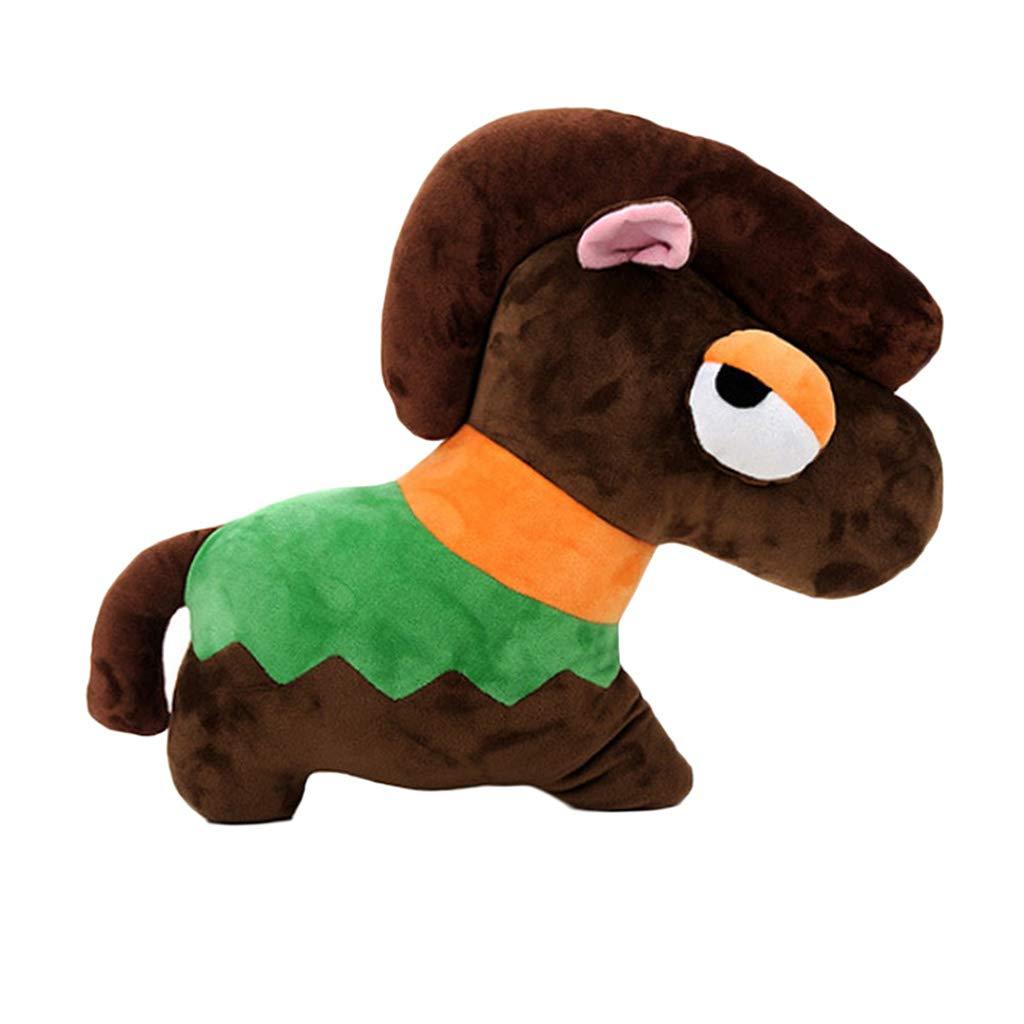 Amazon Com Prettyia Diy Horse Kit Stuffed Animal Sewing Kit Pre Cut