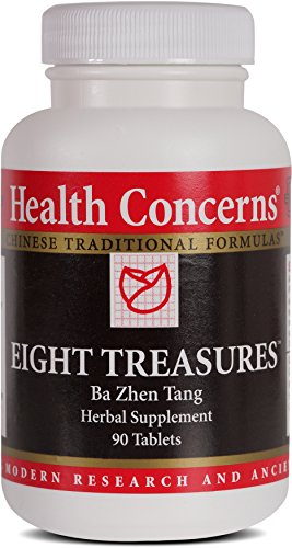 Health Concerns – Eight Treasures – Ba Zhen Tang Herbal Supplement – 90 Tablets