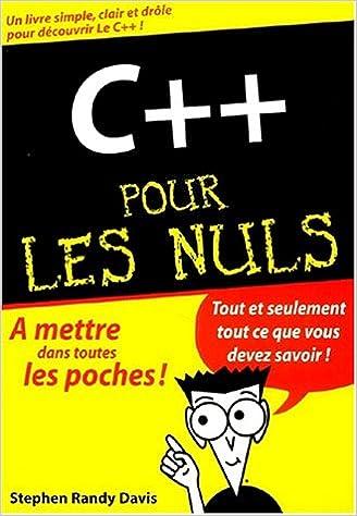 Livres C++ pour les nuls pdf epub