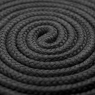 BONTIME Cuerda de algodón suave multiusos – 32 pies de longitud, 1 ...