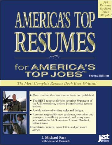 Americas Top Resumes Michael J Farr J Michael Farr Louise M