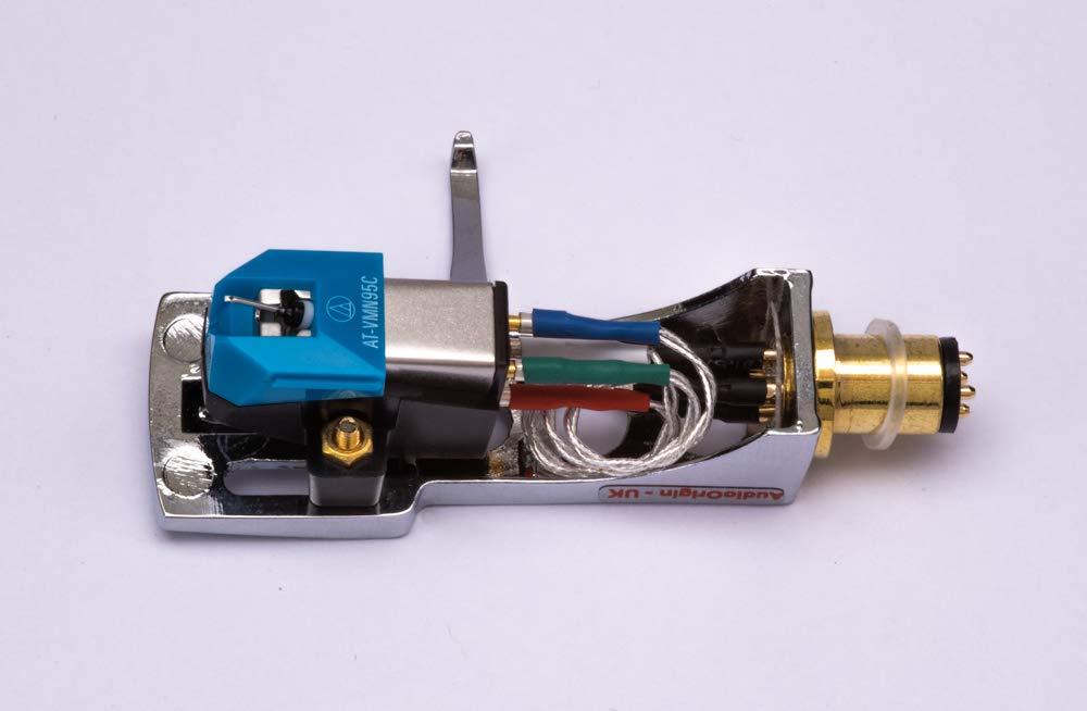 6350Q MRT-625 6025 6320 6050 needle for Marantz 6150 6170 6270Q 6300 6370Q Mirror Chrome plated Headshell 6100 TT-8001 6110 6350 cartridge 6200
