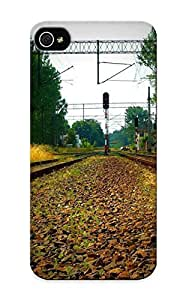 Elizabethshelly Aaoqfi-6127-klydprp Protective Case For Iphone 5/5s(railroads) - Nice Gift For Lovers