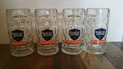Samuel Sam Adams Octoberfest Beer Mug Set Of Four 4