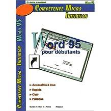 WORD 95 POUR DBUTANTS