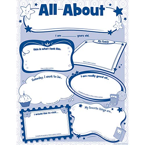 Teacher Created Resources 5222 All About Me Poster Pack (The Best About Me)