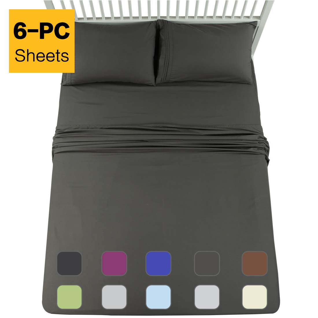 EMONIA Queen Sheets Set