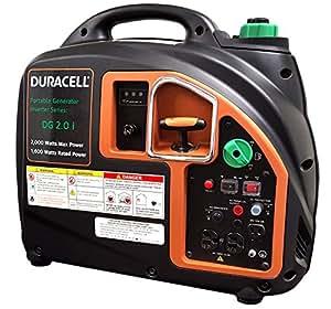 Duracell DG2.0i, 1600 Running Watts/2000 Starting Watts, Gas Powered Portable Inverter