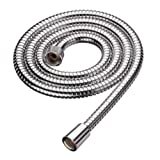 Ana Bath 96 Inch Stainless Steel Shower Hose, Chrome Plated Finish