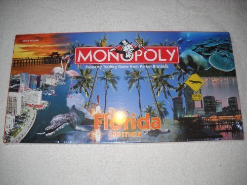 Florida Monopoly Board Game by Parker Brothers