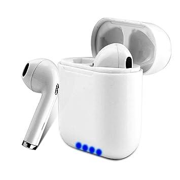 Auriculares Bluetooth Inalámbricos, I8 Auriculares Bluetooth Con Caja De Carga, Reducción De Ruido Y